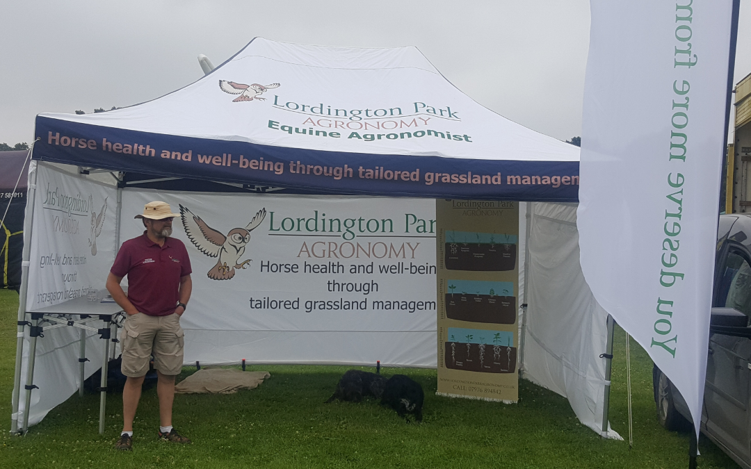 Lordington Park Agronomy at the Driffield Show