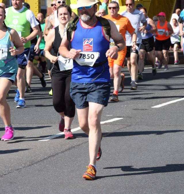 LPA's Jonathan runs for Blind Veterans UK