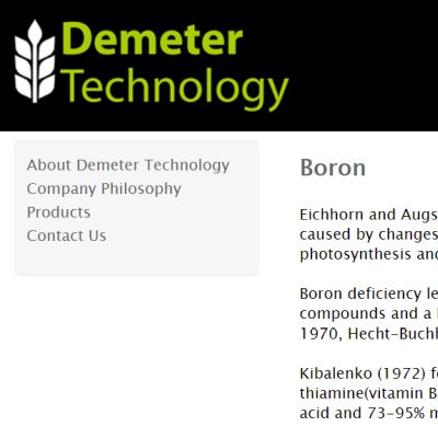Demeter Technology